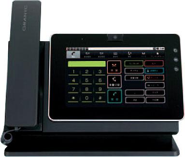 【送料無料】NAKAYO/ナカヨ Android搭載タブレット型IP電話機 GRANYC(グラニス) GRANYC(黒) ACアダプタ ※IP-MP101A512M-B(B)