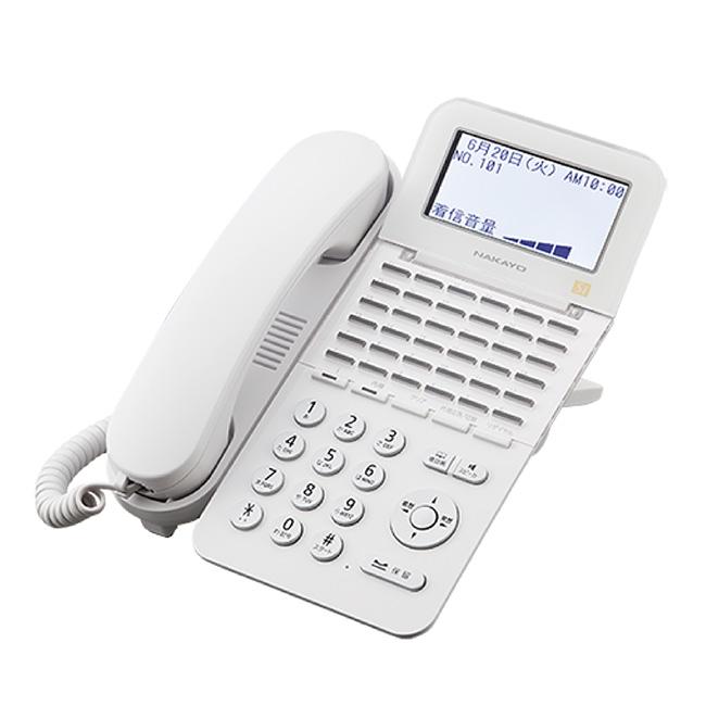 【送料無料】NAKAYO/ナカヨ NYC-Si 36ボタン標準電話機(W)(NYC-36SI-SDW)
