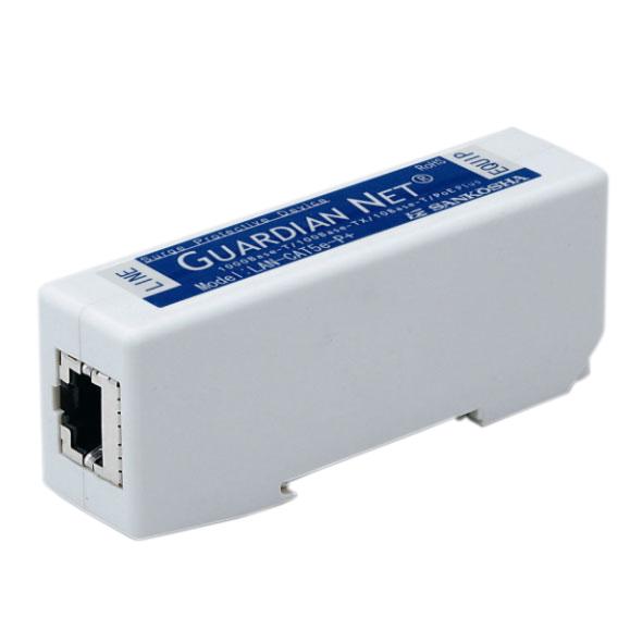 サンコーシヤ 雷対策 LAN用SPD(避雷器) LAN-CAT5e-P+II