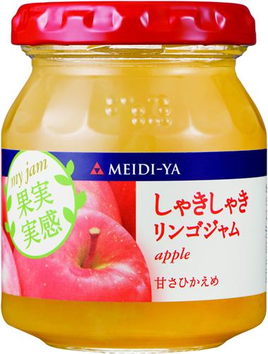 MY果実実感シリーズしゃきしゃきリンゴジャム160g
