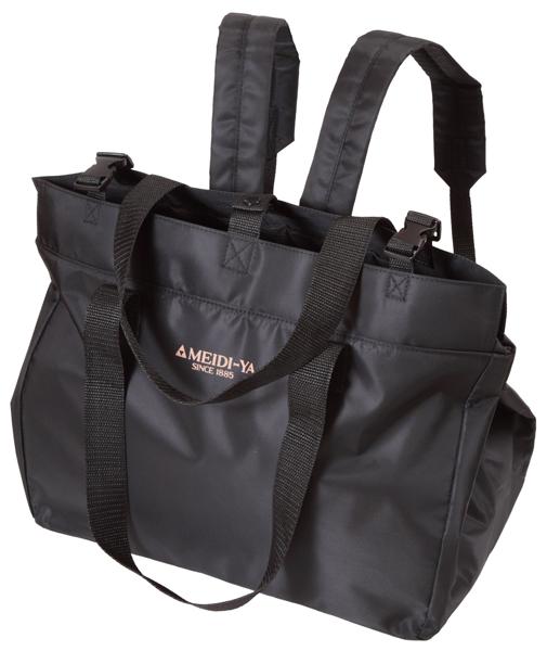 明治屋 保冷レジカゴ2WAYバッグ(リュック機能付き)ブラック