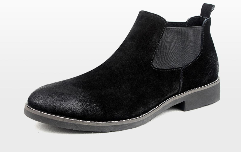 (セインツ ベース)Saints base本革チェルシーブーツ[靴 紳士靴 メンズ カジュアルシューズ 本革シューズ 会社用 ]