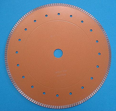 12インチ湿乾両用ダイヤブレード 粒度80/100 (Φ300mm)