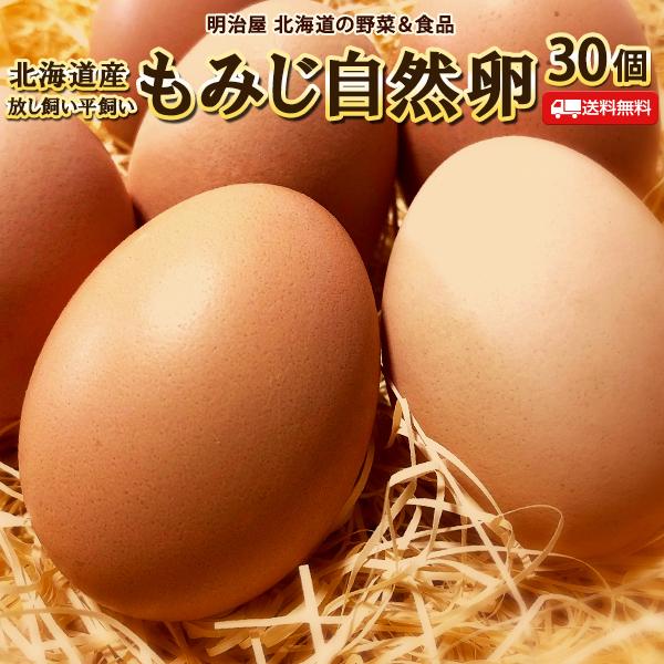 安心のたまご たまご 送料無料 自然卵 30個 北海道産 赤玉鶏 破損保証10個含む 受賞店 常温発送 タマゴ ご予約品 送料込み 放し飼い 平飼い 卵 玉子