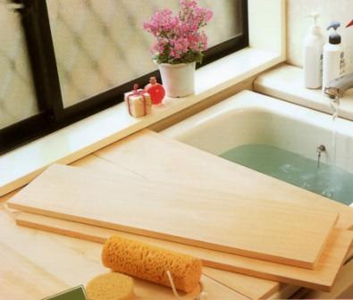 【国産品/国産ひのき】 桧の極厚板の風呂ふた (幅20サイズ)◆木工職人の手作り 安心商品◆