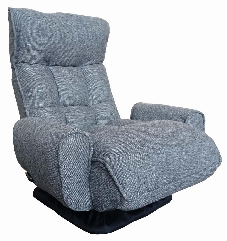 座面が高い肘付回転座椅子 RRKL-ゴッホ | 座椅子 回転 一人用 ソファ お年寄り リクライニング 肘掛け 回転座椅子 リクライニングソファ 一人掛け 椅子 ソファー プレゼント 高齢者 肘付き 肘掛け椅子 一人 肘 回転式 回転式座椅子 リクライニングチェア 立ち上がり 楽