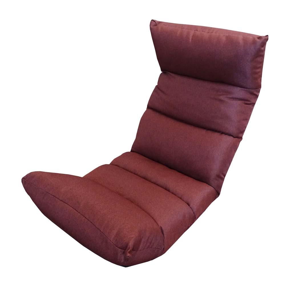 低反発もこもこ脚楽座椅子 MLS-ザラ | 座椅子 リクライニング 一人用 椅子 低反発 リクライニング座椅子 フロアチェア リクライニングチェア リクライニングチェアー チェア リビング ハイバック ハイバックチェア こたつ リクライニング椅子 フットレスト ネイビー 赤