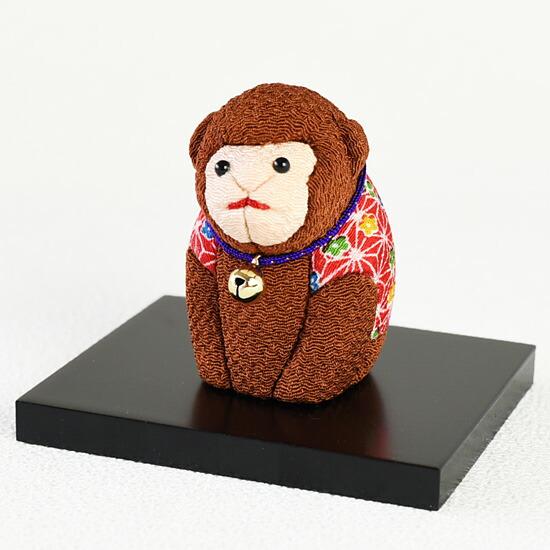 干支人形 買い取り 安値 申 さる吉 木目込み人形 申年 綾子 創作人形作家 新倉