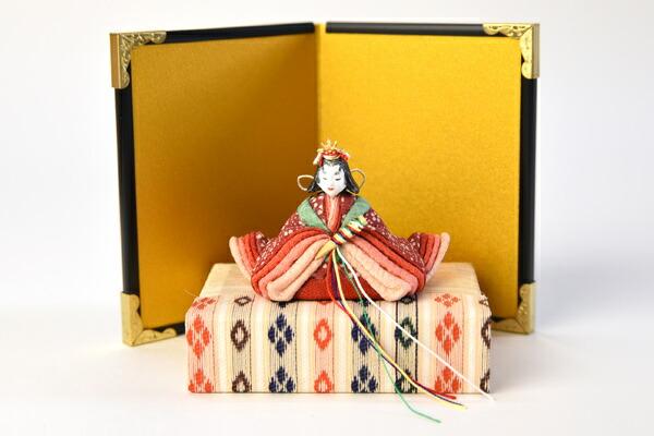 創作人形 なごみ親王飾り雛/木目込み人形