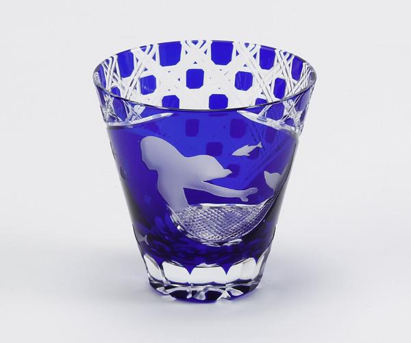 江戸硝子/ロックグラス/Mermaid