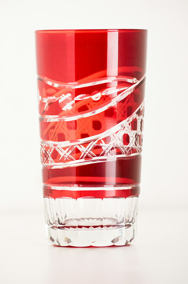 ビアグラス【時】 切子グラス/ビアグラス/コップ