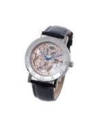 自動巻 スケルトン時計(ブラック)