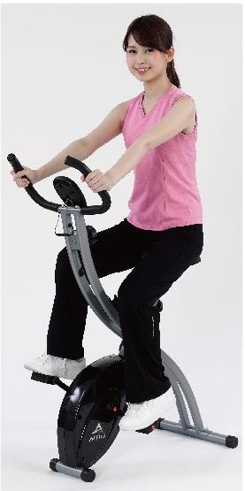 折り畳み式自転車運動器