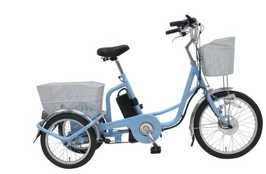 電動三輪自転車 カバー付 保険付