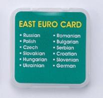 東ユーロ言語カード