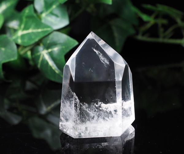 天然水晶 94g 水晶 六角柱 ポイント 原石【一点もの】