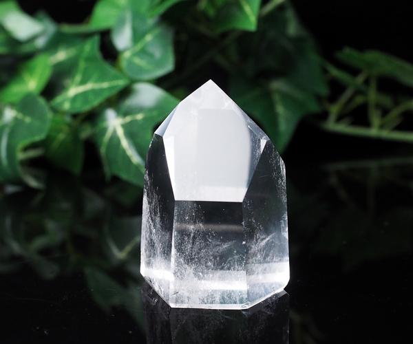 天然水晶 115g 水晶 六角柱 ポイント 原石【一点もの】