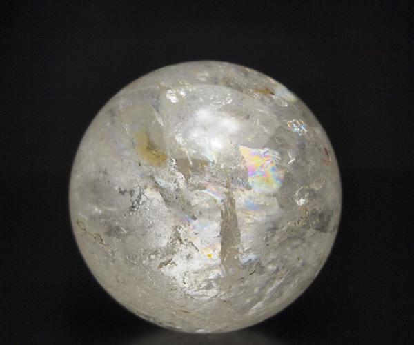天然水晶玉 ブラジル産 61mm 水晶玉1点もの 丸玉 台付き 水晶 クリスタル クォーツ 球 天然石 パワーストーン