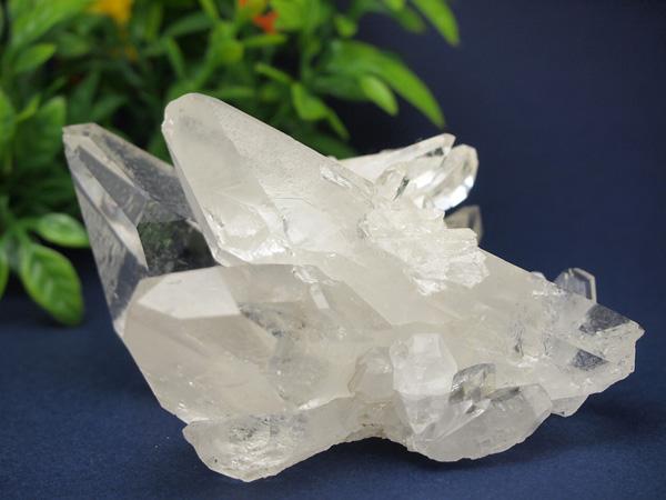 最高品質 水晶クラスター307g ブラジル トマスゴンサガ産