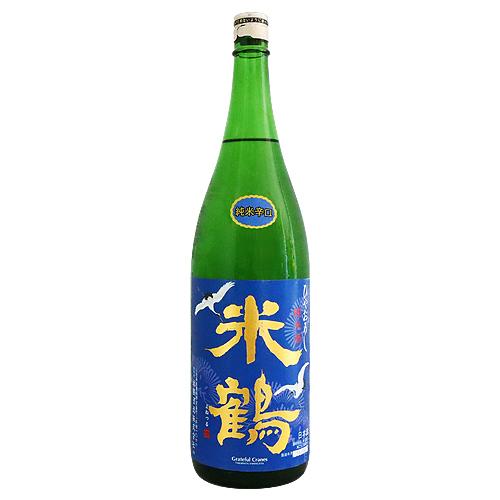 米鶴酒造株式会社 山形県 米鶴 純米辛口ひやおろし よねつる 評価 1800ml 値下げ