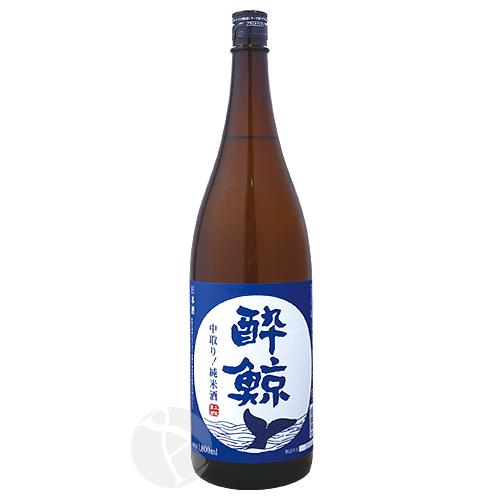 酔鯨酒造株式会社 高知県 酔鯨 純米酒 新発売 中取り すいげい お買い得 1800ml
