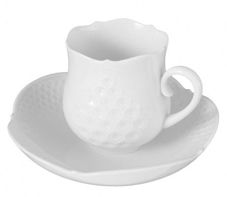 【マイセン公式/日本総代理店】 マイセン ホワイトレリーフ コーヒーカップ&ソーサー