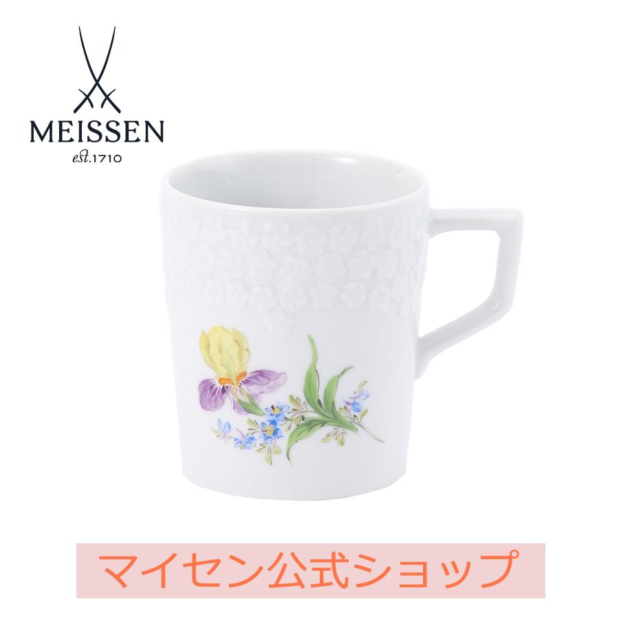 【マイセン公式/日本総代理店】マイセン アイリス マグカップ
