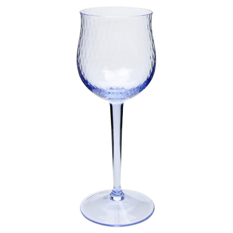 【マイセン公式/日本総代理店】 マイセングラス 波の戯れ 赤ワイングラス(バイオレット)