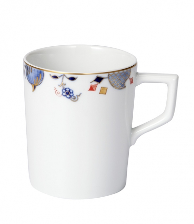 【マイセン公式/日本総代理店】 マイセン ノーブルブルー マグカップ(オニオンパターン)