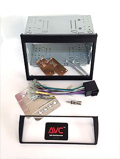 【AVC】ポルシェ996用 2DIN取付キット(純正エアコン移設パネル付)ナビ取り付け