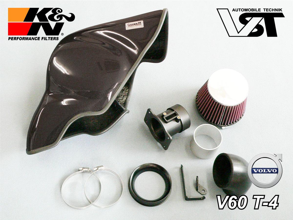 K&N VOLVO V60/S60 T4スポーツ エアクリーナーRAM AIR SYSTEM