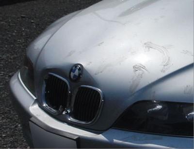 ※↓の部品代と一緒にご購入ください 誕生日 お祝い 輸入車修理 高級品 中破 へこみ修理修理工賃ポイント10倍 Z3修理内容:ボンネット BMW