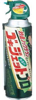 秒速ノックダウンでゴキブリを逃がさないゴキブリ用エアゾール ゴキジェットプロ450ml[アース製薬]