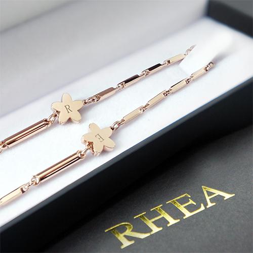 RHEA ネックレス ゴ-ルド 桜