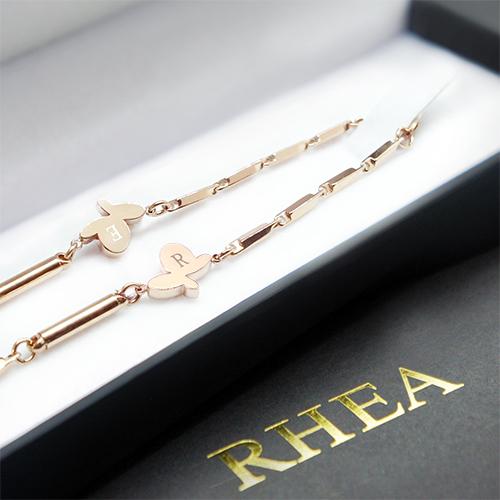 RHEA ネックレス ゴ-ルド Butterfly