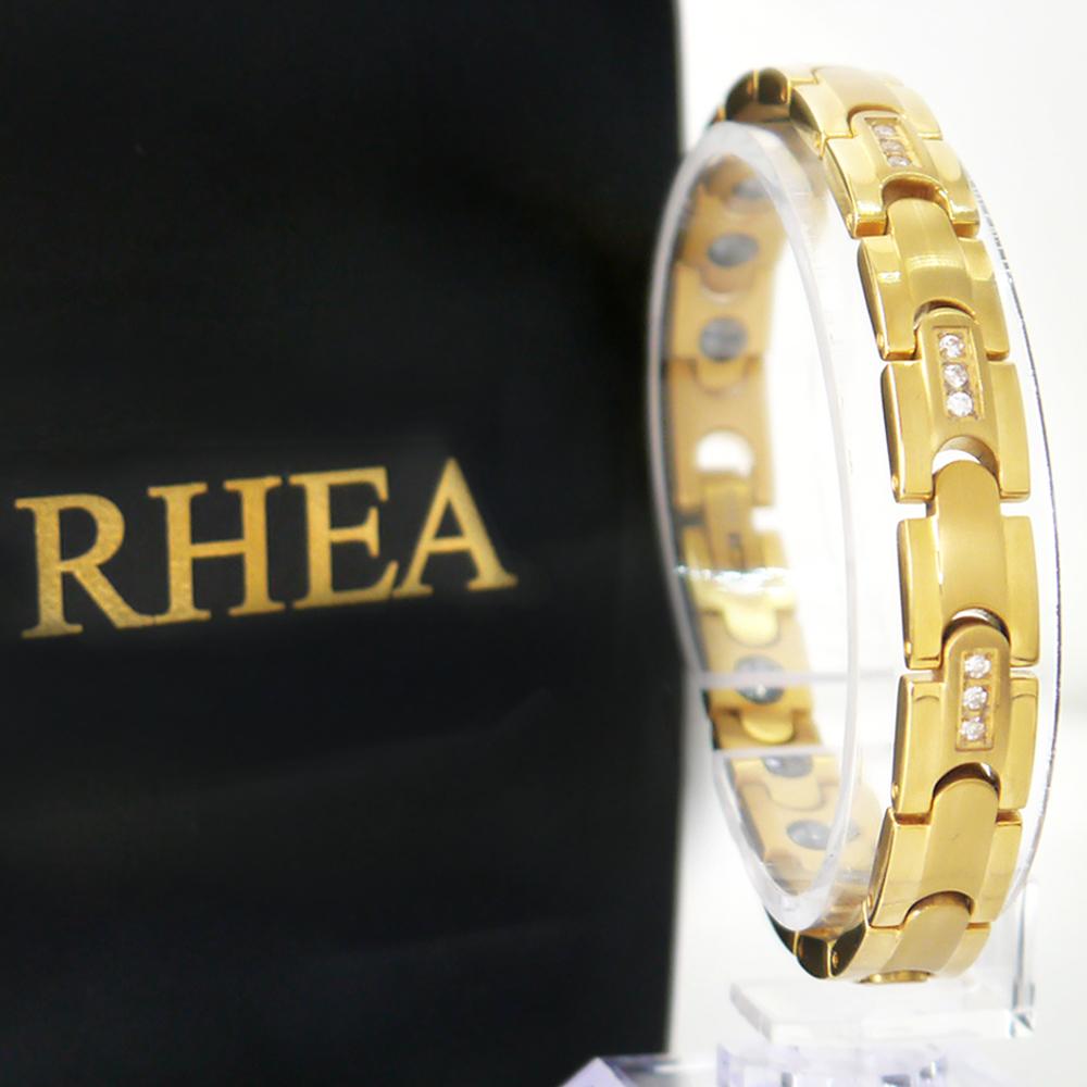 【RHEA】EASY ブレスレット(ゴールドダイヤ / レディース)