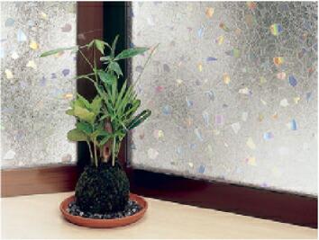 ◇窓飾りシート(ガラスフィルム)「大革命」【UV(紫外線)99%カット】【プライバシー保護】 【962070】 ■