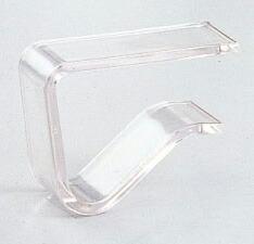 テーブルクロス クロス カバー 小物 デスクマット マット すべりどめ 滑り止め ずれ防止   テーブルクロス止め Sサイズ (クリアー) 4個入り まとめ買い100パック
