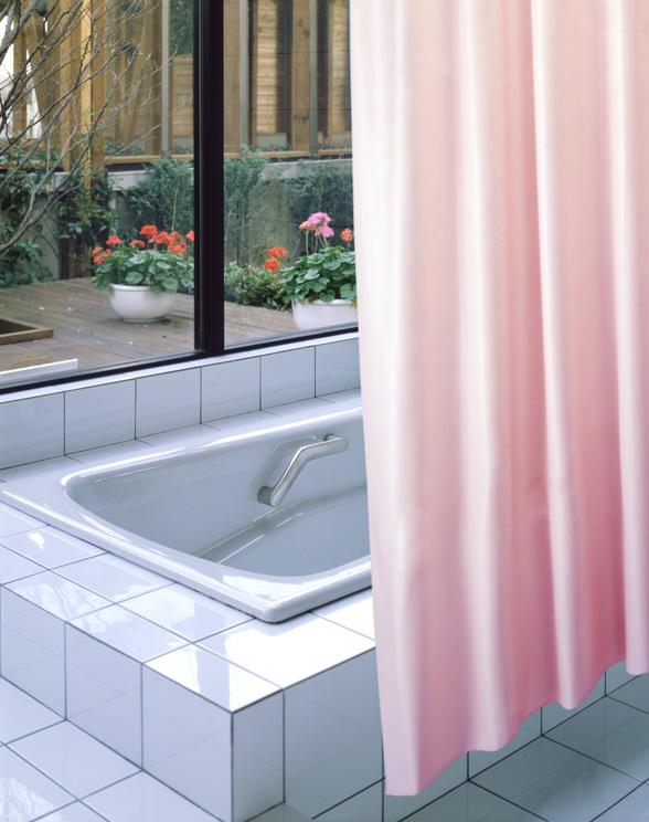 Bus Curtain Shower CVS 300 Pink 130x178cm