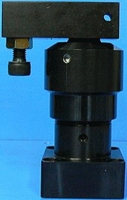 角田興業株式会社 No.KSCL-30R 油圧スイングクランプ 下フランジ型 (右旋回)