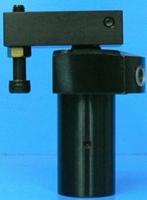 角田興業株式会社 No.KSCU-25L 油圧スイングクランプ 上フランジ型 (左旋回)
