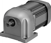 三菱電機 GM-SF 0.2KW 1/10 ギヤードモータ GM-SFシリーズ(三相・フランジ形)