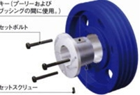 NBK 鍋屋バイテック イソメック ブッシング タイプ3 U1-90-Q