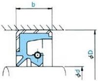 【メール便送料無料対応可】 NOK 店 TB32038028 大径TB型:伝動機 (AD5720A0) オイルシール-DIY・工具
