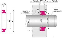 NOK パッキン LBH 500 (CL0460C0) LBH型 ダストシール