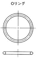 NOK Oリング 4DP-325 (CO08836G0) P シリーズ(固定用、運動用)