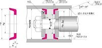 NOK パッキン CPI300205250 (FC0344C1) ピストンシール専用パッキン CPI型