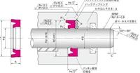 NOK パッキン ISI30032516 (FU1762K0) ロッドシール専用パッキン ISI型