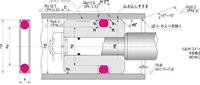 NOK パッキン SPGW-185 (GS0653V5) ピストンシール専用パッキン SPGW型