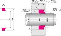 NOK パッキン DSI 240 (FQ0129D0) DSI型 ダストシール